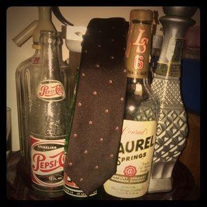 Vintage Lilly Dache men's neck tie